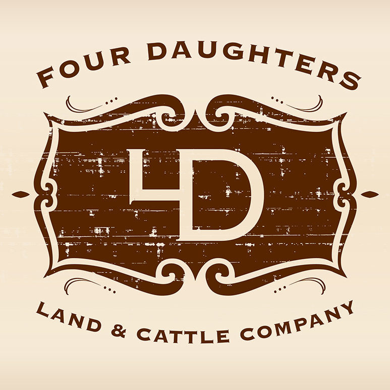 4 Daughters Land & Cattle Logo