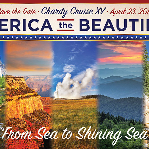 Charity Cruise XV Save the Date Card