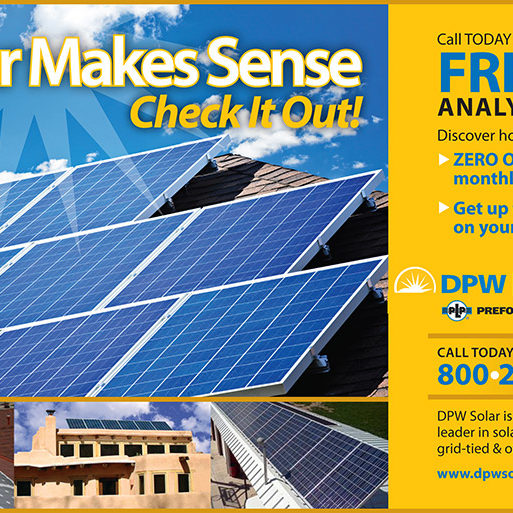 DPW Solar Ad
